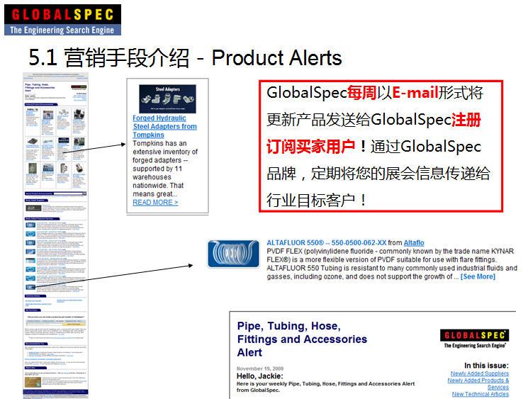 工业产品如何利用GlobalSpec进行美国(北美)展会的展前营销
