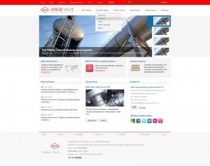 杰欣外贸网站设计 - 新海阀门