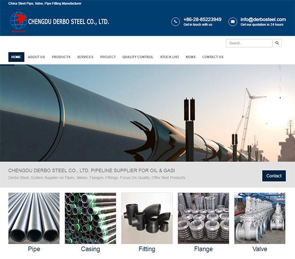 响应式SEO型外贸企业网站